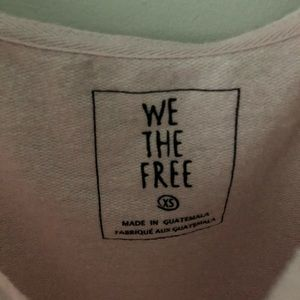 Free People Tops - Free People We The Free Stay Young Pullover
